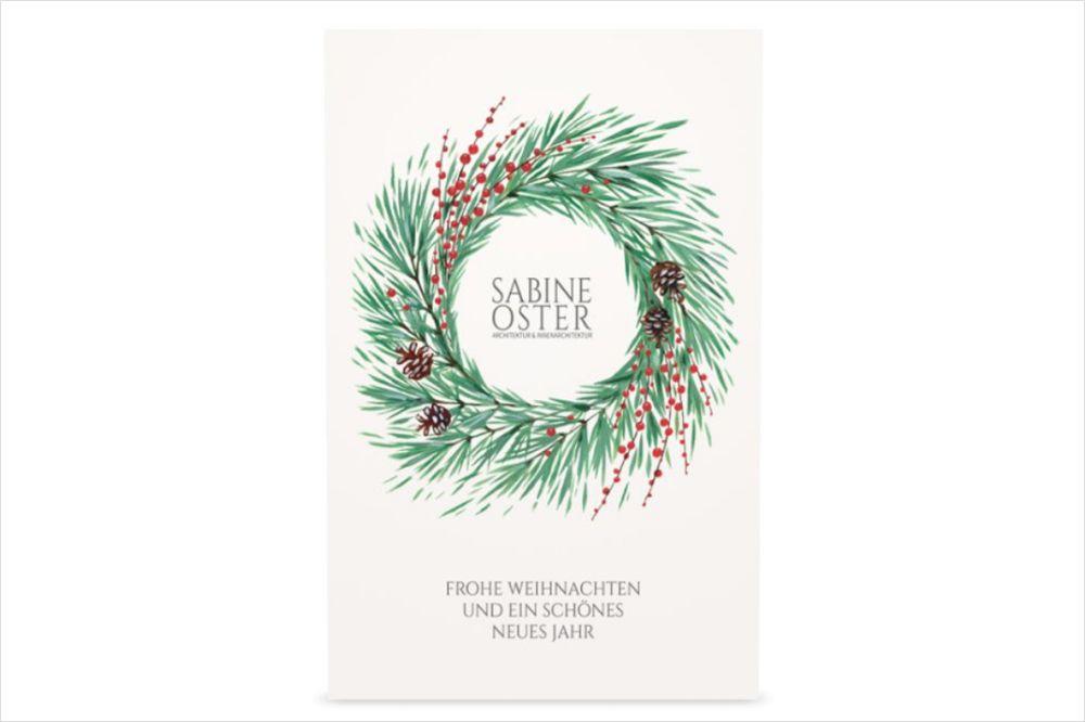 Sabine Oster wünscht frohe Weihnachten