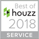 best of houzz award servcie 2018